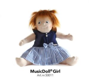 Music doll girl