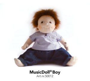 music doll boy